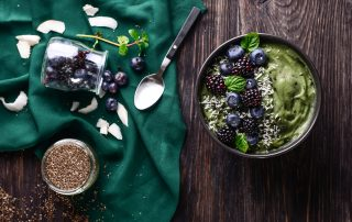 Nutrient dense foods, sustainably sourced, create sustainable vitality